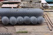 Забор из сетки рабицы – идеальный вариант для фермера!